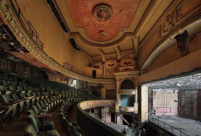 Burnley Empire Theatre circle