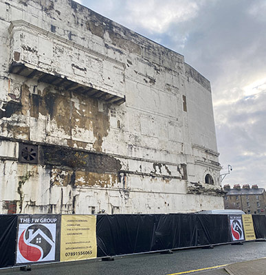 Burnley Empire Theatre front