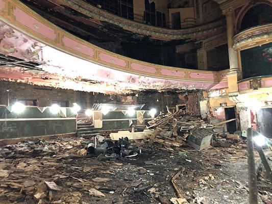 Burnley Empire Theatre stalls