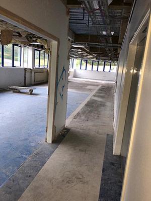JW Demolition - Soft Strip demolition project HM Property